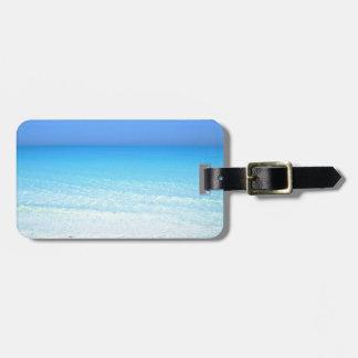 sea luggage tag