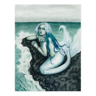 Sea Mist Mermaid Postcard