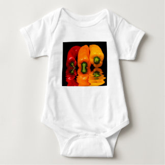 Sea mixed peppers baby bodysuit