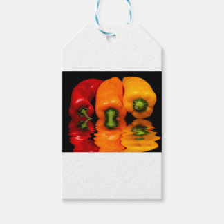 Sea mixed peppers gift tags