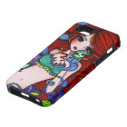 Sea Monkey Mermaid Fantasy Art iPhone Case-Tough Tough iPhone 5 Case