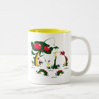 Sea-Monkey Two-Tone Coffee Mug