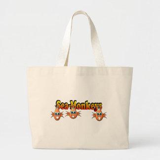 Sea Monkeys Monkees Design Jumbo Tote Bag
