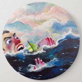 Sea Monster 6 Cm Round Badge