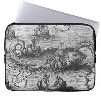 "Sea Monster/Creature/Kraken 13"" Laptop Sleeve"