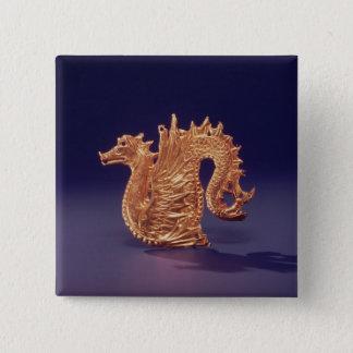 Sea monster 'Ketos' 15 Cm Square Badge