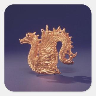 Sea monster 'Ketos' Square Sticker