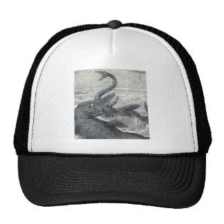 Sea Monster Vs. Sea Serpent Cap