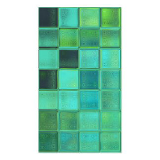 Sea Mosaic customizable template business cards