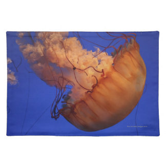 Sea nettle jellyfish placemat