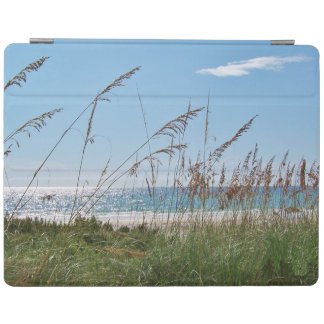 Sea Oats on White Sand Beach iPad Cover
