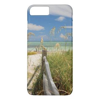 Sea oats Uniola paniculata) growing by beach iPhone 8 Plus/7 Plus Case