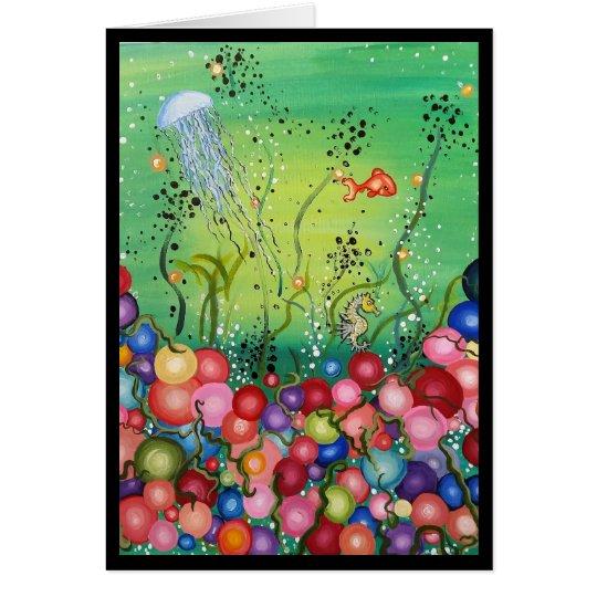 Sea of Colour- Greeting Card, I'm Sorry Card