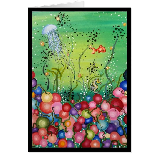 Sea of Colour- Greeting Card, Thinking of You Card
