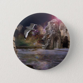 Sea of dreams.. 6 cm round badge