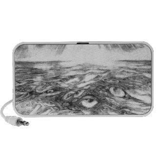Sea Of Eyes Portable Speaker