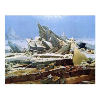 Sea of Ice - Das Eismeer - La Mer de Glaces Postcard