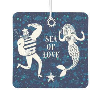 Sea Of Love Poster Car Air Freshener