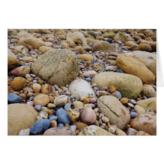 Sea of pebbles card