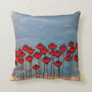 Sea of Poppies Cushion