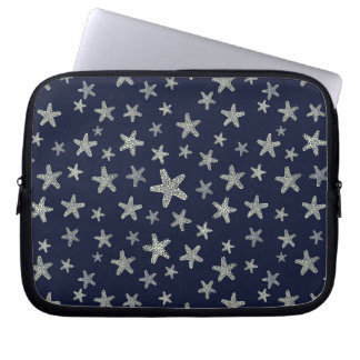 Sea Of Starfish Pattern Laptop Sleeve