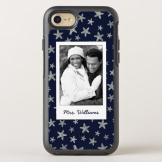 Sea Of Starfish Pattern | Your Photo & Name OtterBox Symmetry iPhone 8/7 Case