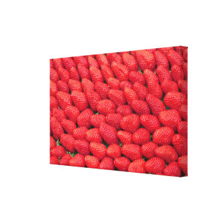 Sea of Strawberries Canvas Print