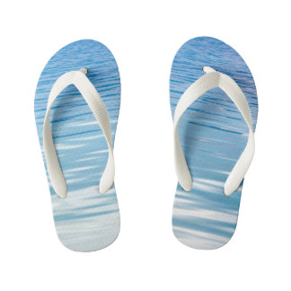 Sea of Tranquility Kid's Flip Flops