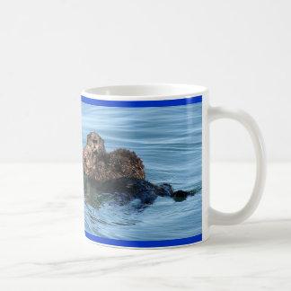 sea-otter-1633x1225-IMG_5365-3-30-05-redo, Sea ... Basic White Mug