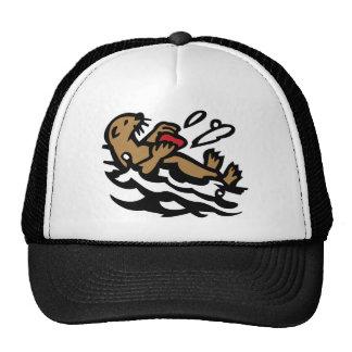 Sea otter cap