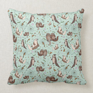 Sea Otter Cushion