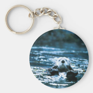 Sea Otter Key Ring