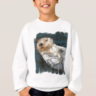 Sea Otter Kid's Sweatshirt
