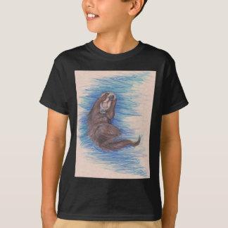 Sea Otter Little Wild Animal Critter Cute T-Shirt