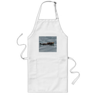 sea otter long apron