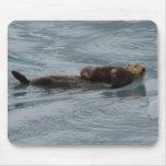 Sea Otter Mousemats