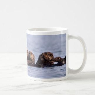 Sea Otter Raft Coffee Mug