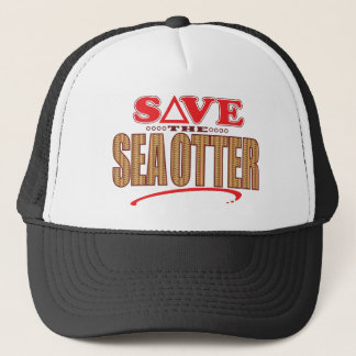 Sea Otter Save Trucker Hat
