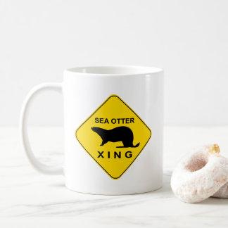Sea Otter Xing Coffee Mug