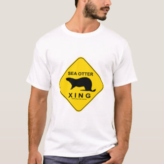 Sea Otter Xing T-Shirt