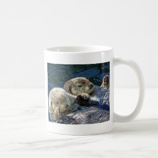Sea-otters Basic White Mug