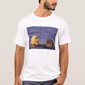 Sea Otters, Enhydra lutris 4 T-Shirt