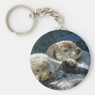 Sea-otters Key Ring
