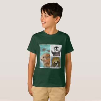 Sea Otters & Penguin Friend T-Shirt