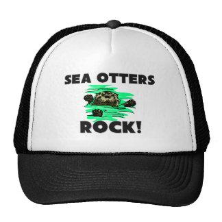 Sea Otters Rock Trucker Hats