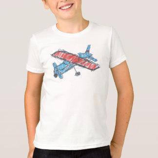Sea Plane Kids' Basic American Apparel T-Shirt