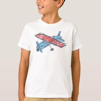 Sea Plane Kids' Basic Hanes Tagless ComfortSoft® T-Shirt