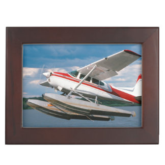 Sea Plane Taking Off, Victoria Falls, Zimbabwe Keepsake Box