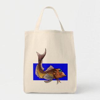 Sea Robin Tote Bag