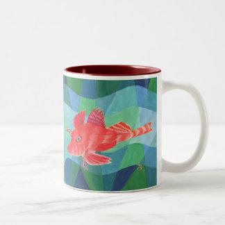 Sea Robin Two-Tone Mug